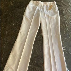 🔥New MK sz 8 dress pants ⬆️80%OFF! W28/31L white